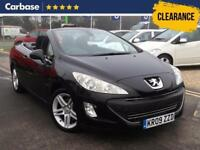 2009 PEUGEOT 308 2.0 HDi 140 SE 2dr Convertible