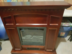''  ELECTRIC  FIRE PLACE MANTEL''
