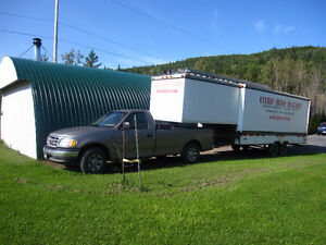 Camion et équipement de gouttière