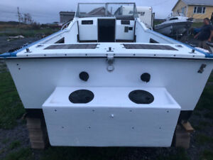 23 Ft Cuddy with small cabin room. Needs Finishing ** REDUCED**