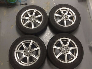 "Fast mags 15"" 4x100 4x114.3          205/60/15"