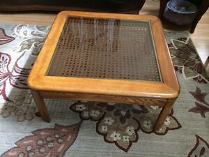 MOVING SALE - SOLID OAK COFFEE TABLE