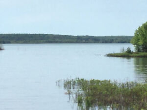 120 feet lot with beautiful  waterfront view on Lake George
