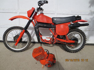 1980 Can Am 2 Stroke 400cc Project. $500.00.  Red Deer.