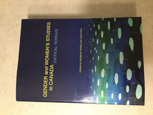 Gender and women's studies in Canada. Brand new