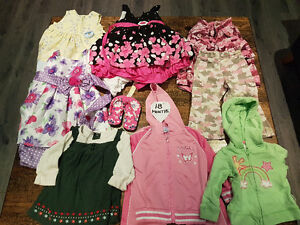 50+ items girl sizes 18 month to size 4