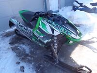 "2012 ARCTIC CAT F 1100 TURBO SNOWMOBILE  "" PARTING OUT """