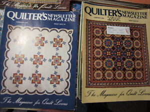Quilters Newsletter Magazine 1981 - 1984 Complete! London Ontario image 3