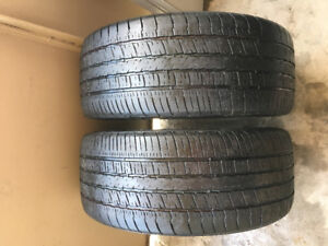 GoodYear tires P245/45 R18""