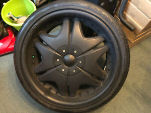19 inch tire and wheel package