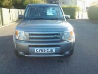 Land Rover Discovery 3 2.7TD V6 auto 2009MY GS FULL SERVICE HISTORY (7 SEATS)