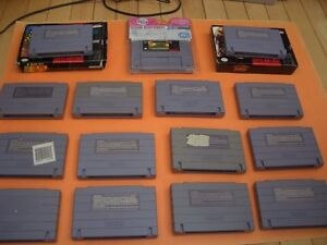 (14)  SUPER NINTENDO GAMES CARRIER ACES, ASP, NHL STANLEY CUP London Ontario image 4