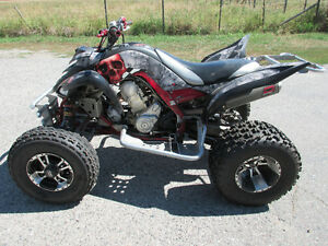 2007 Yamaha Raptor 700 Fully MODDED!
