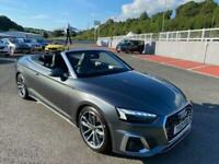 2021 21 AUDI A5 CONVERTIBLE 40 TFSI 2.0 S LINE Auto Petrol 202bhp 1,500 miles