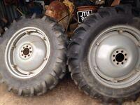 Massey Ferguson T20 wheels/Tyres