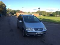 VW SHARAN 1.9 tdi 1 OWNER FROM NEW DRIVES GREAT