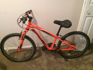 Specialized Hotrock new condition hard tail boys mountain bike.