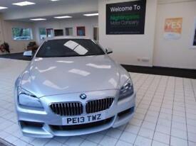 2013 13 BMW 6 SERIES 3.0 640D M SPORT 2D AUTO 309 BHP DIESEL