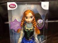 Disney Frozen - Disney Store Frozen Singing Anna, brand new, unopened