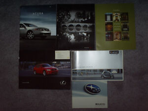 Car Brochures collectable