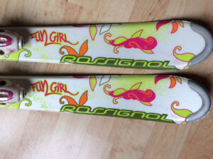 Rossignol Fun Girl Skis - Excellent Condition – Tuned Read to Go