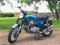 Honda CB750 Sandcast 1969 Frame 1002534 Engine 1002581