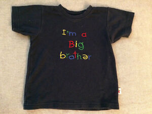 I'm a Big Brother t-shirt size 2-3