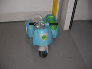 Vintage Ride On Motorcycle Toy -battery operated