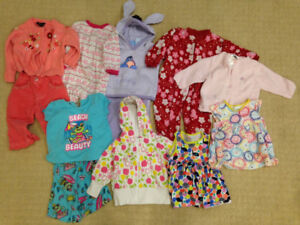 Baby Girl Clothes (12 months)