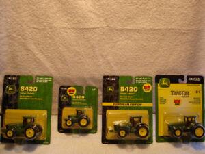John Deere 1/64 Tractors - NIP