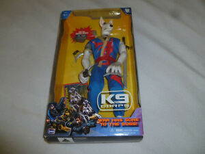 looking for used/ louse k9 corps action figures