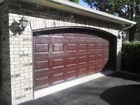 4 panneaux pour porte garage 16' X 7' Quincaillerie non incluse
