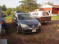 2006 vw jetta 2.5l for parts