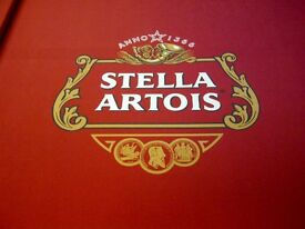 Stella Artois Supreme Winner Pool Table - New Re-cover - Accessories Inc. Delivery Available! Look!