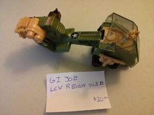 GI JOE LCV Recon Sled $20