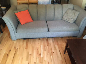 Cozy couch in good condition! - $40.00
