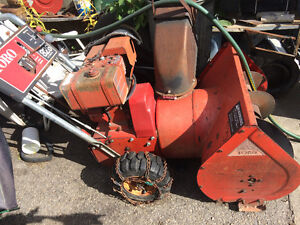 826 Toro snowblower