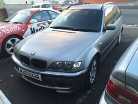 Bmw 320i touring breaking full car doors mirrors wheels gearbox