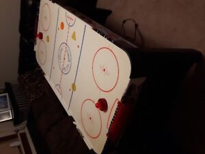 air hockey game 20.00 or going to charity 24 hrs from now