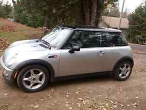 02 mini cooper launch edition!Will trade 4 smart car convertible Peterborough Peterborough Area image 1