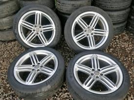 "20""x 4 AUDI Q5 S line + Genuine Alloy Wheels"