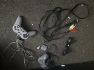PlayStation 2 all the hookups excellent condition and 1 game