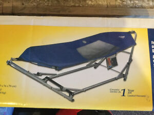 Portable camp Hammock/cot - new