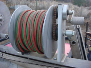 Shell-Ryn Oxy/Acetylene Reel and Hose in Good Condition