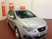 SEAT IBIZA ESTATE-POOR CREDIT-WE FINANCE-TEXT 4CAR TO 88802 FOR A CALLBACK