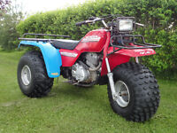 big red (3 roues)