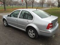 2004 Volks Jetta 1.8t full load