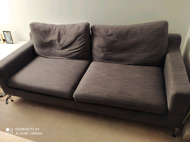 Large Grey sofa and chair