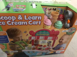 LEAP FROG ICE CREAM KART + LASER TAG ( BOTH BRAND NEW )