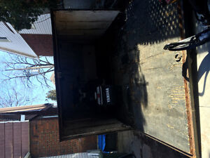 Sled and Enclosed trailer